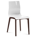 Geoffrey White Modern Dining Chair