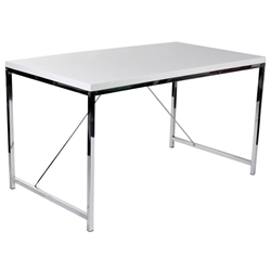 Gilbert Desk in White by Euro Style