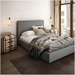 Granville Upholstered Bed by Amisco in Ritzy
