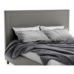 Granville Contemporary Upholstered Headboard in Ritzy Fabric