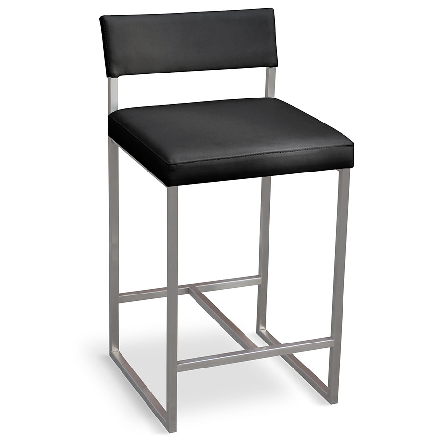 Gus Modern Graph Counter Stool In Coal Eurway
