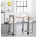Graph Modern Counter Stool by Gus Modern in Snow