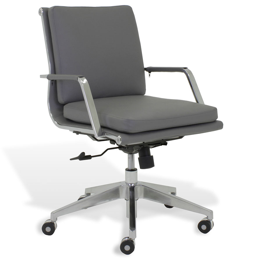 Jesper Greta Grey Low Back Office Chair Collectic Home