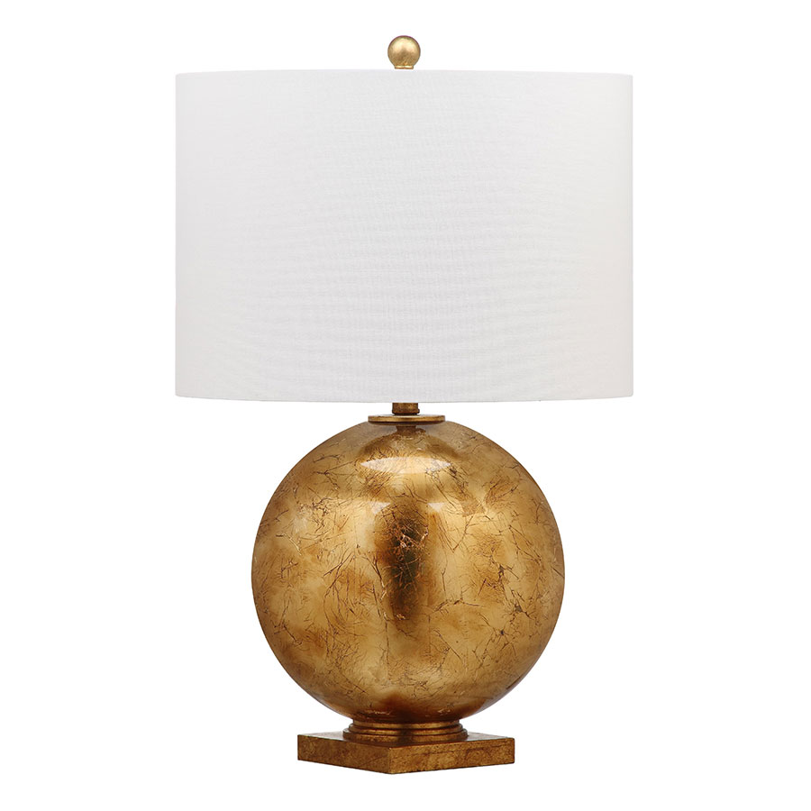 Gunther Gold Contemporary Table Lamp