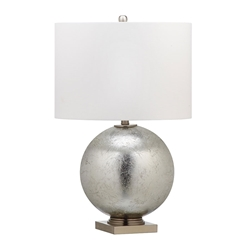 Gunther Silver Contemporary Table Lamp