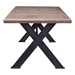 Hajnal Contemporary Dining Table End