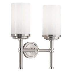 Halo Double Contemporary Wall Sconce