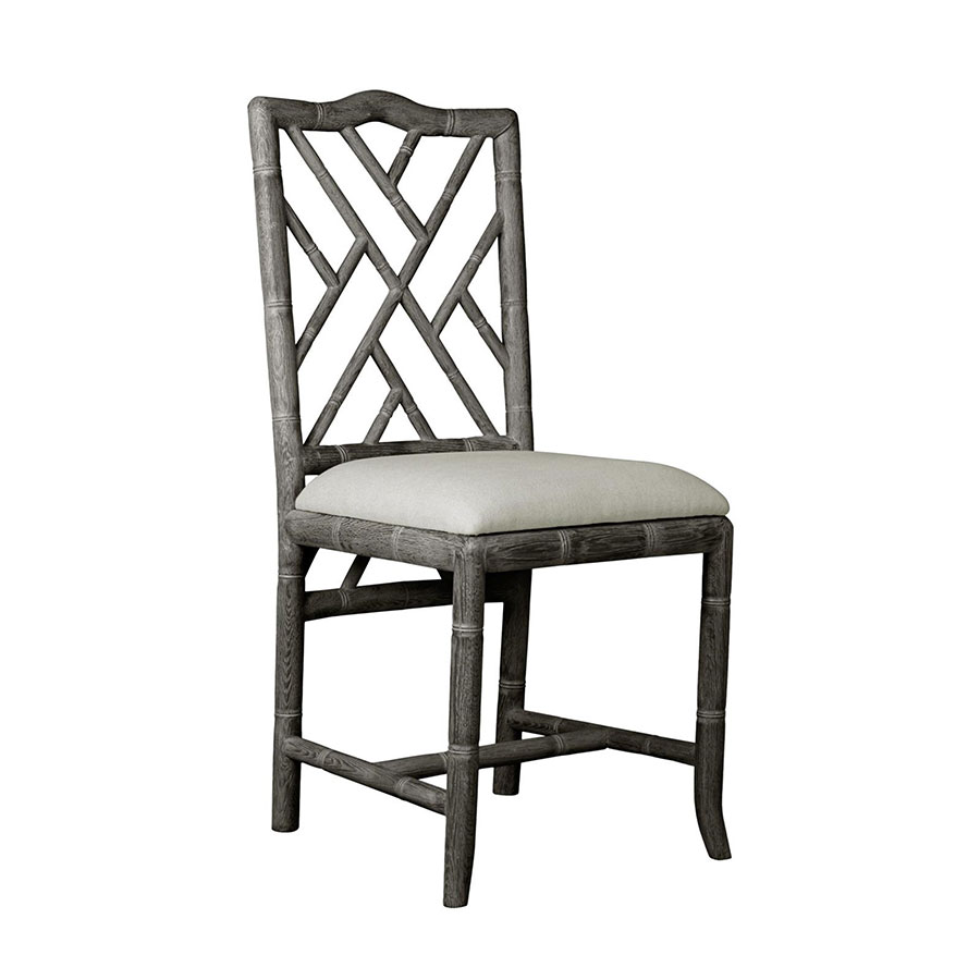 Hampton Gray Contemporary Dining Chair
