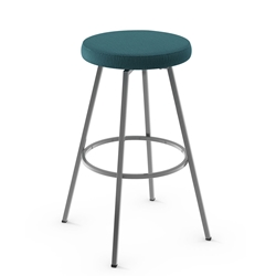 Hans Modern Swivel Counter Stool by Amisco