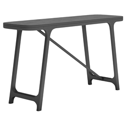 Modloft Haru Black Oak Modern Console Table