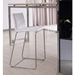 Hayden Contemporary White Counter Stool