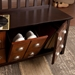 Hedley Contemporary Storage Bench Room Detail