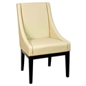Howard Contemporary Dining Chair in Bonded Leather