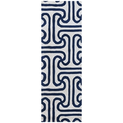 Iconic Runner Rug in Blue