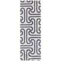Iconic Runner Rug in Grey