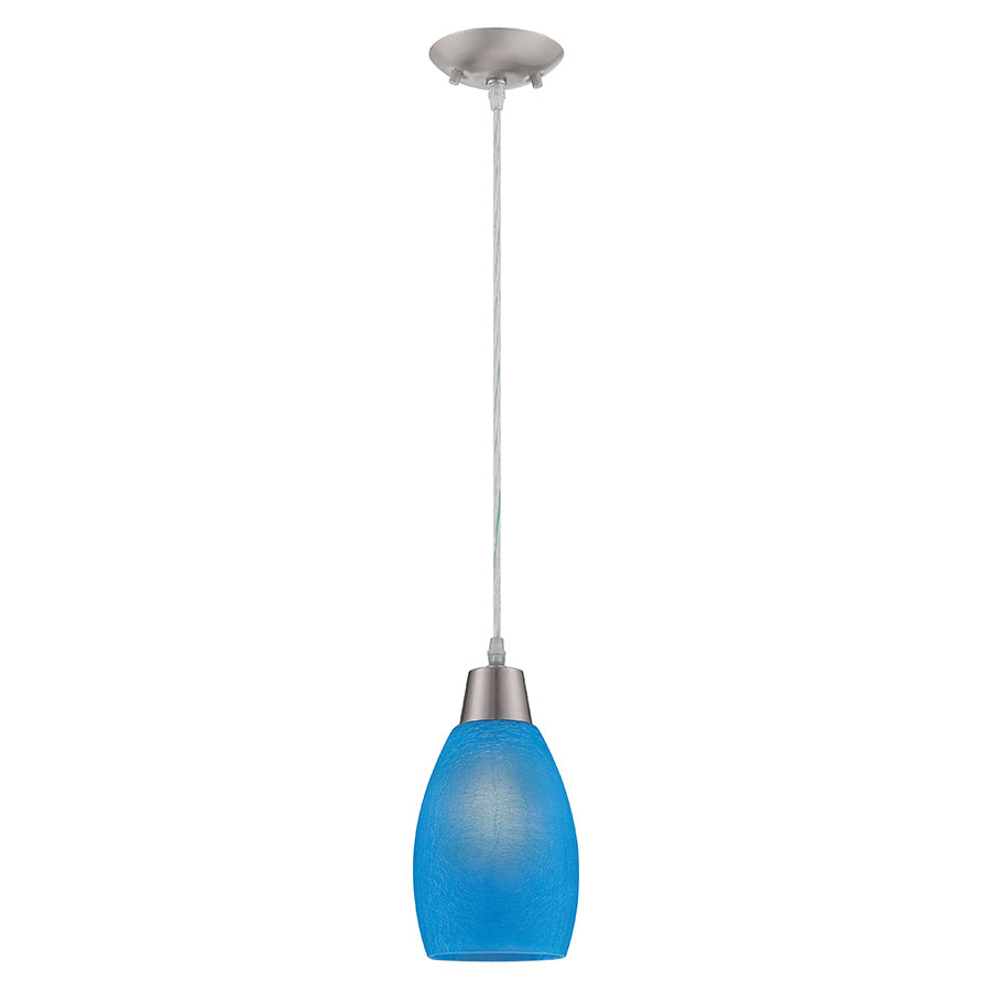Indra Blue Contemporary Pendant Lamp