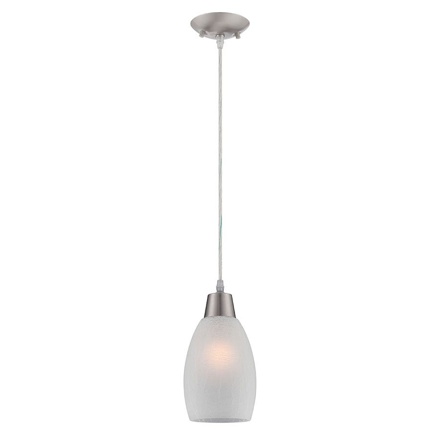 Indra White Contemporary Pendant Lamp