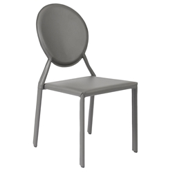 Isabella Modern Gray Stacking Chair by Euro Style