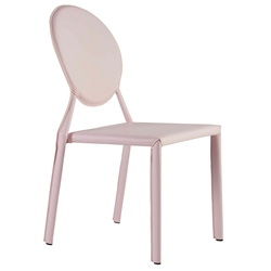 Isabella Modern Pink Stacking Chair