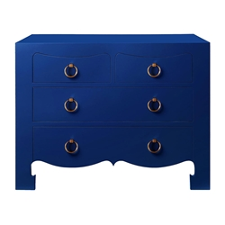 Jacqui Blue Contemporary Dresser