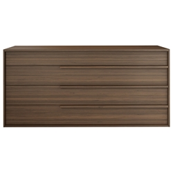 Modloft Jane Walnut Wood Modern Dresser