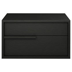 Modloft Jane Right-Facing Wenge Modern Nightstand
