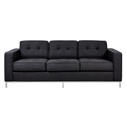 Jane Contemporary Sofa in Laurentian Onyx by Gus! Modern