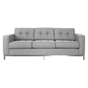 Jane Contemporary Sofa in Parliament Stone by Gus* Modern