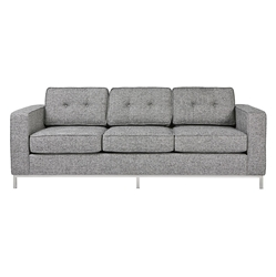 Jane Contemporary Sofa in Sterling Gravel by Gus! Modern