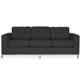 Jane Modern Sofa in Urban Tweed Ink Fabric