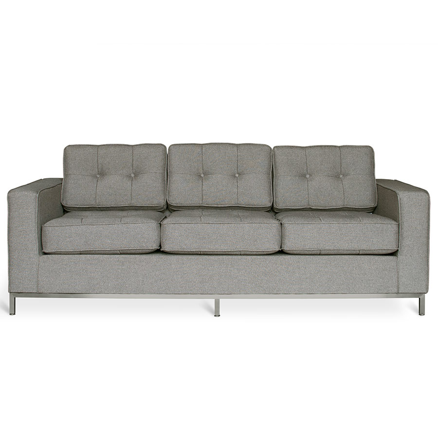 Captivating Jane Contemporary Sofa In Totem Storm