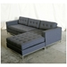 Jane Contemporary Bi-Sectional by Gus Modern