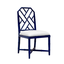 Jardin Blue Contemporary Dining Chair