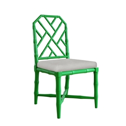 Jardin Green Contemporary Dining Chair