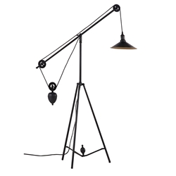 Jasmine Contemporary Floor Lamp