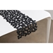 Finell Join Bubble Modern Table Runner in Black