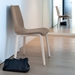 Jude-L Dining Chair in Ash and Taupe