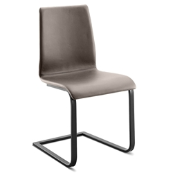 Jude-sp Anthracite + Taupe Modern Dining Chair by Domitalia