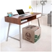 Junction Home Office Desk in Walnut by Gus Modern