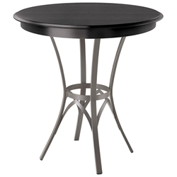 Kai Bar Table by Amsico with Choco Top