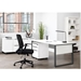 Kalmar Modern White Office Furniture Collection