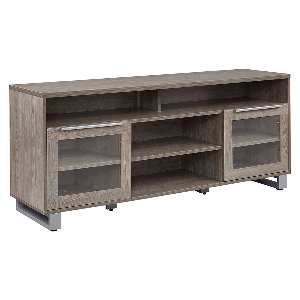 Kalmar Modern 63 inch Gray Washed TV Cabinet by Unique Furniture