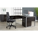 Kalmar Modern Espresso Desk Collection by Unique Furniture