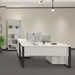 Unique Furniture Kalmar Modern White Office Collection