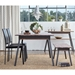 Kate Black Leatherette Modern Dining Side Chairs