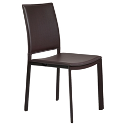 Kamusi Modern Brown Side Chair
