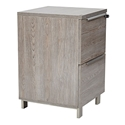 Karlstad Modern 2-Drawer File Cabinet