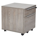 Kalmar Modern 2-Drawer Mobile File Cabinet