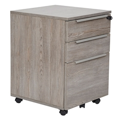 Kalmar Modern 3-Drawer Mobile File Cabinet