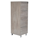 Karlstad Modern 4-Drawer File Cabinet